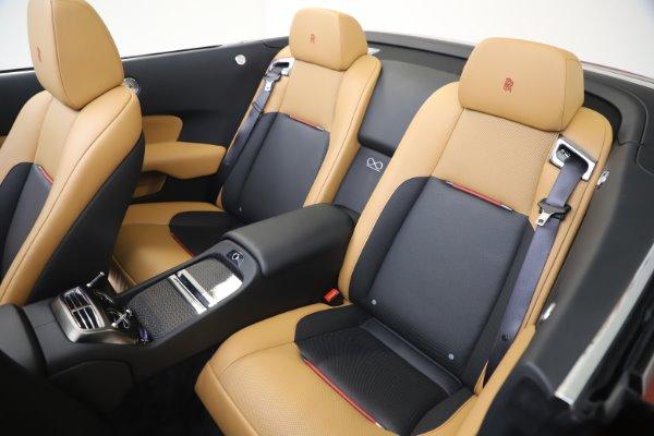 Used 2019 Rolls-Royce Dawn Black Badge for sale $349,900 at Rolls-Royce Motor Cars Greenwich in Greenwich CT 06830 21