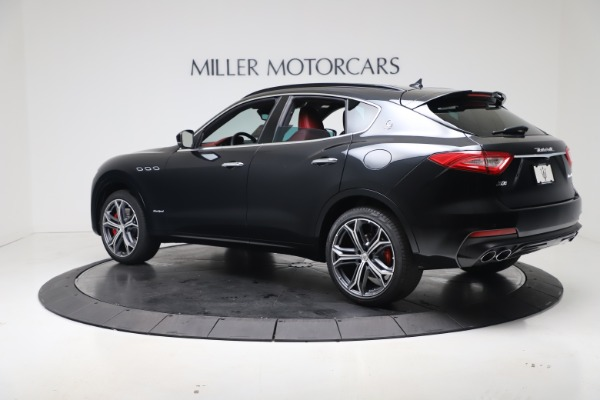 New 2020 Maserati Levante S Q4 GranSport for sale $103,585 at Rolls-Royce Motor Cars Greenwich in Greenwich CT 06830 4