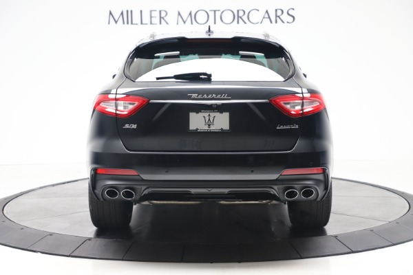 New 2020 Maserati Levante S Q4 GranSport for sale $103,585 at Rolls-Royce Motor Cars Greenwich in Greenwich CT 06830 6