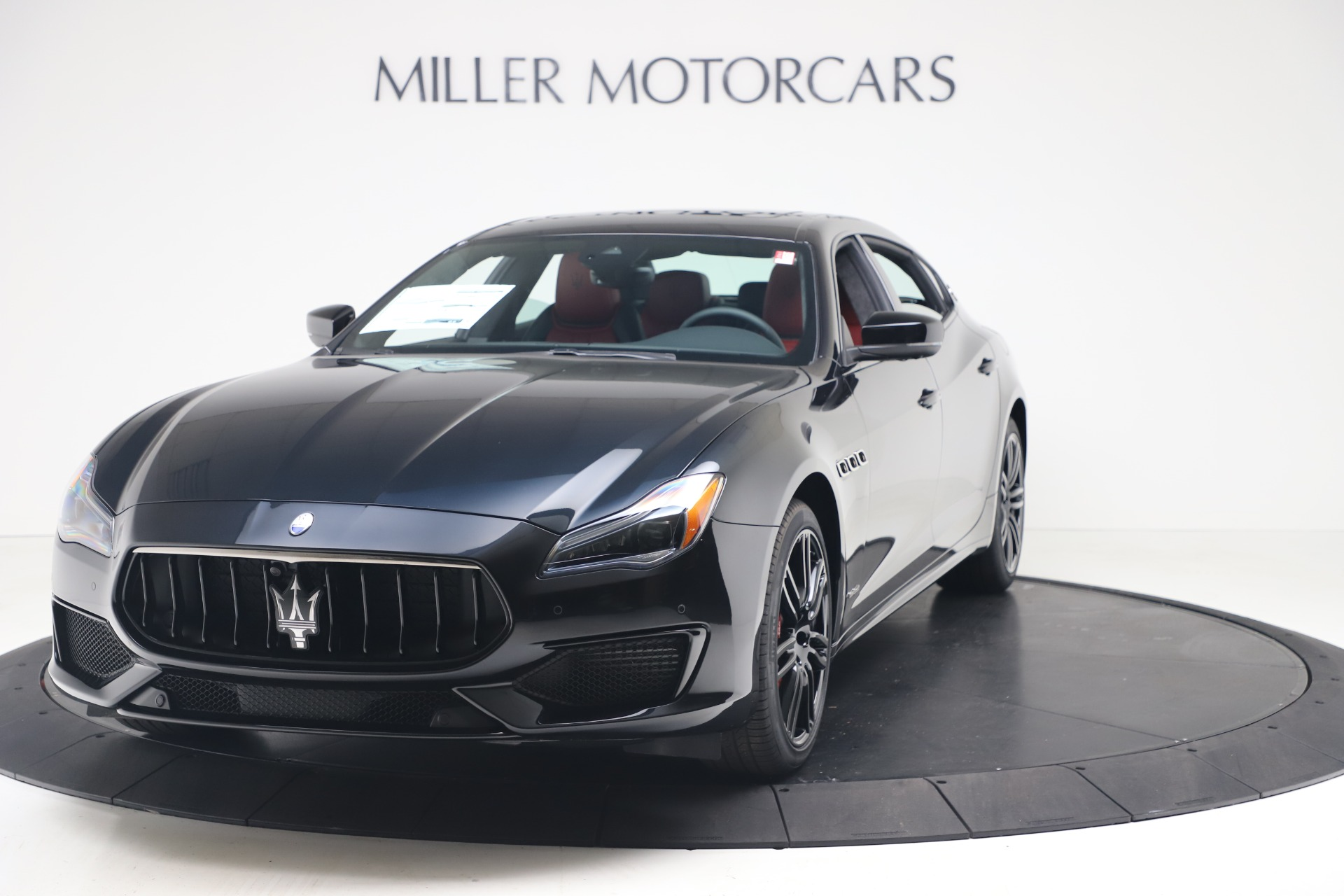 New 2020 Maserati Quattroporte S Q4 GranSport for sale $122,485 at Rolls-Royce Motor Cars Greenwich in Greenwich CT 06830 1