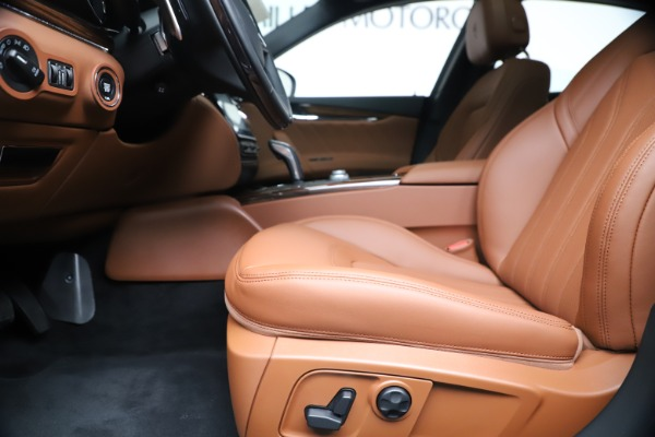 New 2020 Maserati Quattroporte S Q4 GranLusso for sale Sold at Rolls-Royce Motor Cars Greenwich in Greenwich CT 06830 14