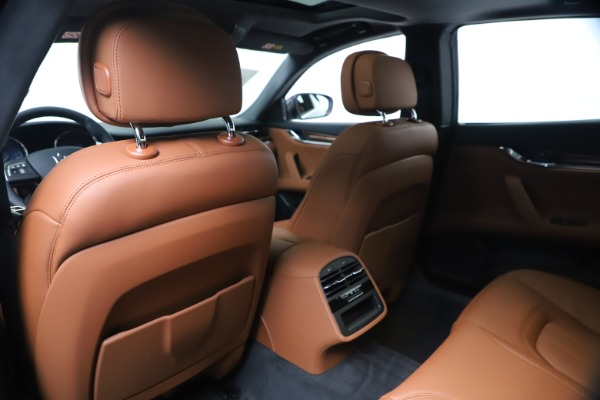 New 2020 Maserati Quattroporte S Q4 GranLusso for sale Sold at Rolls-Royce Motor Cars Greenwich in Greenwich CT 06830 20