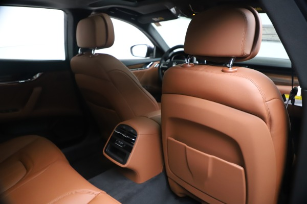 New 2020 Maserati Quattroporte S Q4 GranLusso for sale Sold at Rolls-Royce Motor Cars Greenwich in Greenwich CT 06830 28