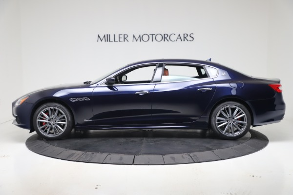 New 2020 Maserati Quattroporte S Q4 GranLusso for sale Sold at Rolls-Royce Motor Cars Greenwich in Greenwich CT 06830 3