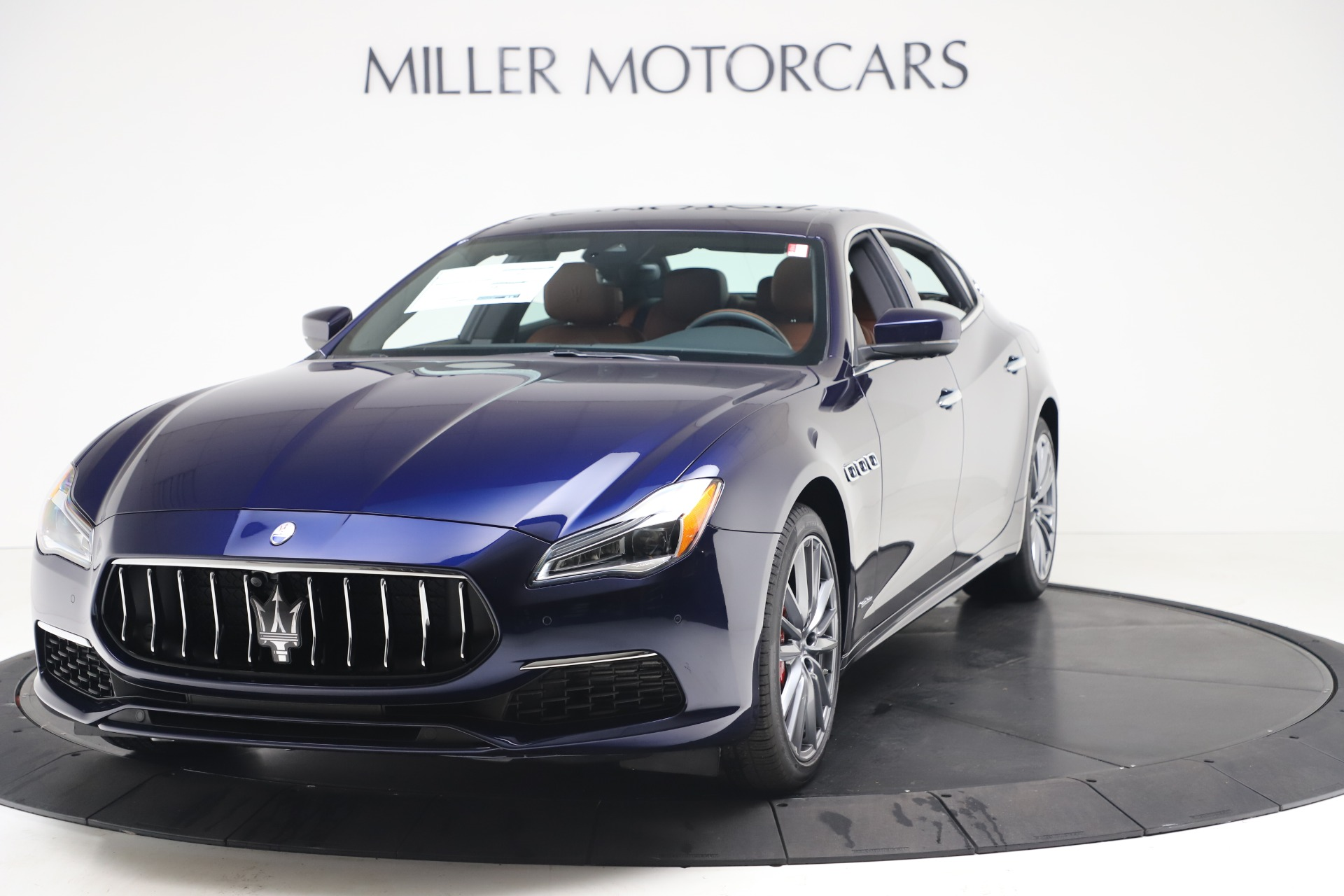 New 2020 Maserati Quattroporte S Q4 GranLusso for sale Sold at Rolls-Royce Motor Cars Greenwich in Greenwich CT 06830 1