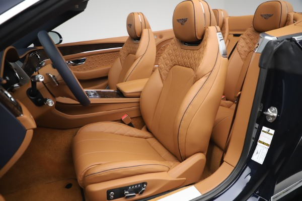 New 2020 Bentley Continental GTC W12 for sale $292,575 at Rolls-Royce Motor Cars Greenwich in Greenwich CT 06830 26