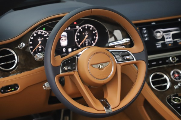 New 2020 Bentley Continental GTC W12 for sale $292,575 at Rolls-Royce Motor Cars Greenwich in Greenwich CT 06830 27