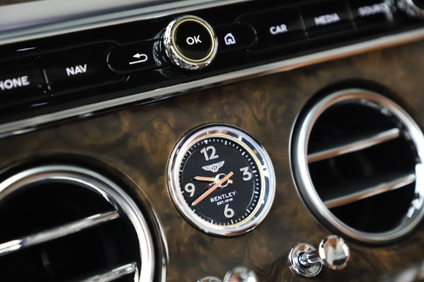 New 2020 Bentley Continental GTC W12 for sale $292,575 at Rolls-Royce Motor Cars Greenwich in Greenwich CT 06830 28
