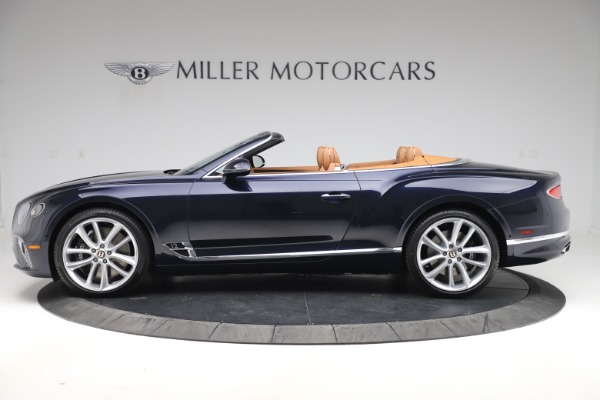 New 2020 Bentley Continental GTC W12 for sale $292,575 at Rolls-Royce Motor Cars Greenwich in Greenwich CT 06830 3