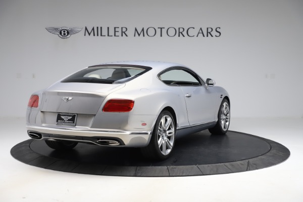 New 2016 Bentley Continental GT W12 for sale $128,900 at Rolls-Royce Motor Cars Greenwich in Greenwich CT 06830 7