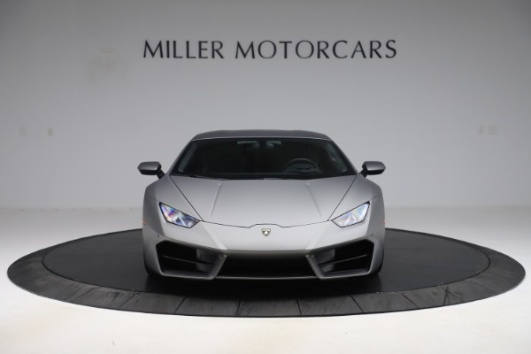 Used 2017 Lamborghini Huracan LP 580-2 for sale Sold at Rolls-Royce Motor Cars Greenwich in Greenwich CT 06830 12