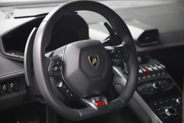 Used 2017 Lamborghini Huracan LP 580-2 for sale Sold at Rolls-Royce Motor Cars Greenwich in Greenwich CT 06830 15
