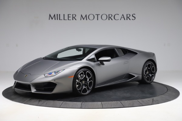 Used 2017 Lamborghini Huracan LP 580-2 for sale Sold at Rolls-Royce Motor Cars Greenwich in Greenwich CT 06830 2