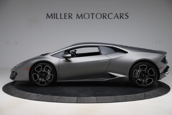 Used 2017 Lamborghini Huracan LP 580-2 for sale Sold at Rolls-Royce Motor Cars Greenwich in Greenwich CT 06830 3
