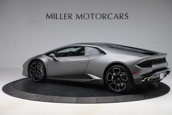 Used 2017 Lamborghini Huracan LP 580-2 for sale Sold at Rolls-Royce Motor Cars Greenwich in Greenwich CT 06830 4