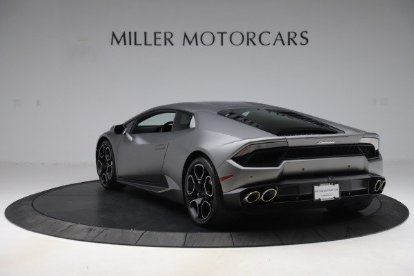 Used 2017 Lamborghini Huracan LP 580-2 for sale Sold at Rolls-Royce Motor Cars Greenwich in Greenwich CT 06830 5