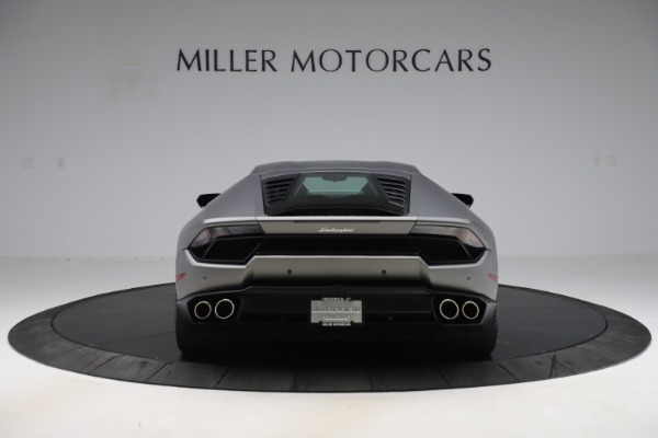 Used 2017 Lamborghini Huracan LP 580-2 for sale Sold at Rolls-Royce Motor Cars Greenwich in Greenwich CT 06830 6