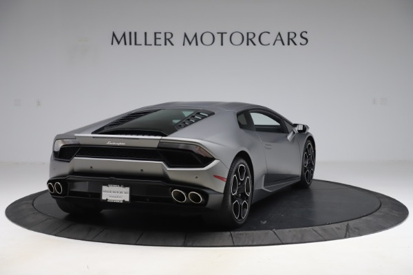 Used 2017 Lamborghini Huracan LP 580-2 for sale Sold at Rolls-Royce Motor Cars Greenwich in Greenwich CT 06830 7