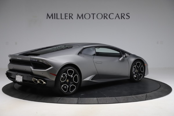 Used 2017 Lamborghini Huracan LP 580-2 for sale Sold at Rolls-Royce Motor Cars Greenwich in Greenwich CT 06830 8