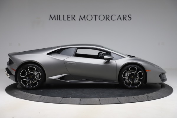 Used 2017 Lamborghini Huracan LP 580-2 for sale Sold at Rolls-Royce Motor Cars Greenwich in Greenwich CT 06830 9