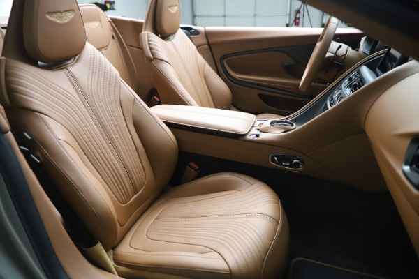 Used 2020 Aston Martin DB11 Volante Convertible for sale $239,900 at Rolls-Royce Motor Cars Greenwich in Greenwich CT 06830 21
