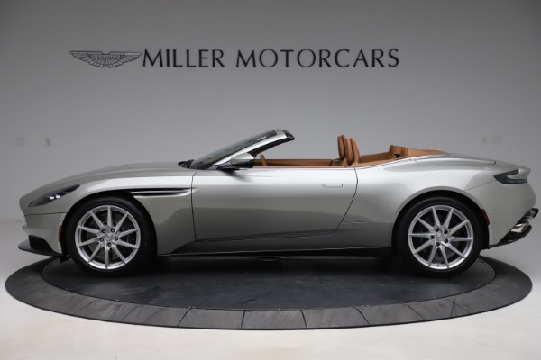 Used 2020 Aston Martin DB11 Volante Convertible for sale $239,900 at Rolls-Royce Motor Cars Greenwich in Greenwich CT 06830 4
