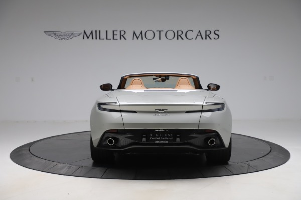Used 2020 Aston Martin DB11 Volante Convertible for sale $239,900 at Rolls-Royce Motor Cars Greenwich in Greenwich CT 06830 7
