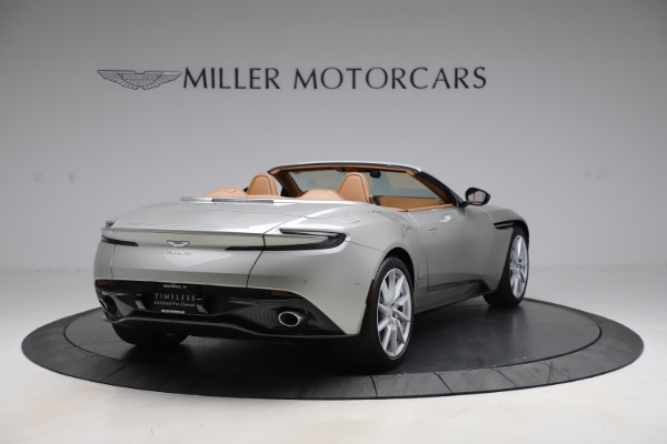 Used 2020 Aston Martin DB11 Volante Convertible for sale $239,900 at Rolls-Royce Motor Cars Greenwich in Greenwich CT 06830 8