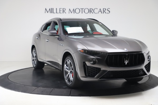 New 2020 Maserati Levante S Q4 GranSport for sale $101,535 at Rolls-Royce Motor Cars Greenwich in Greenwich CT 06830 11