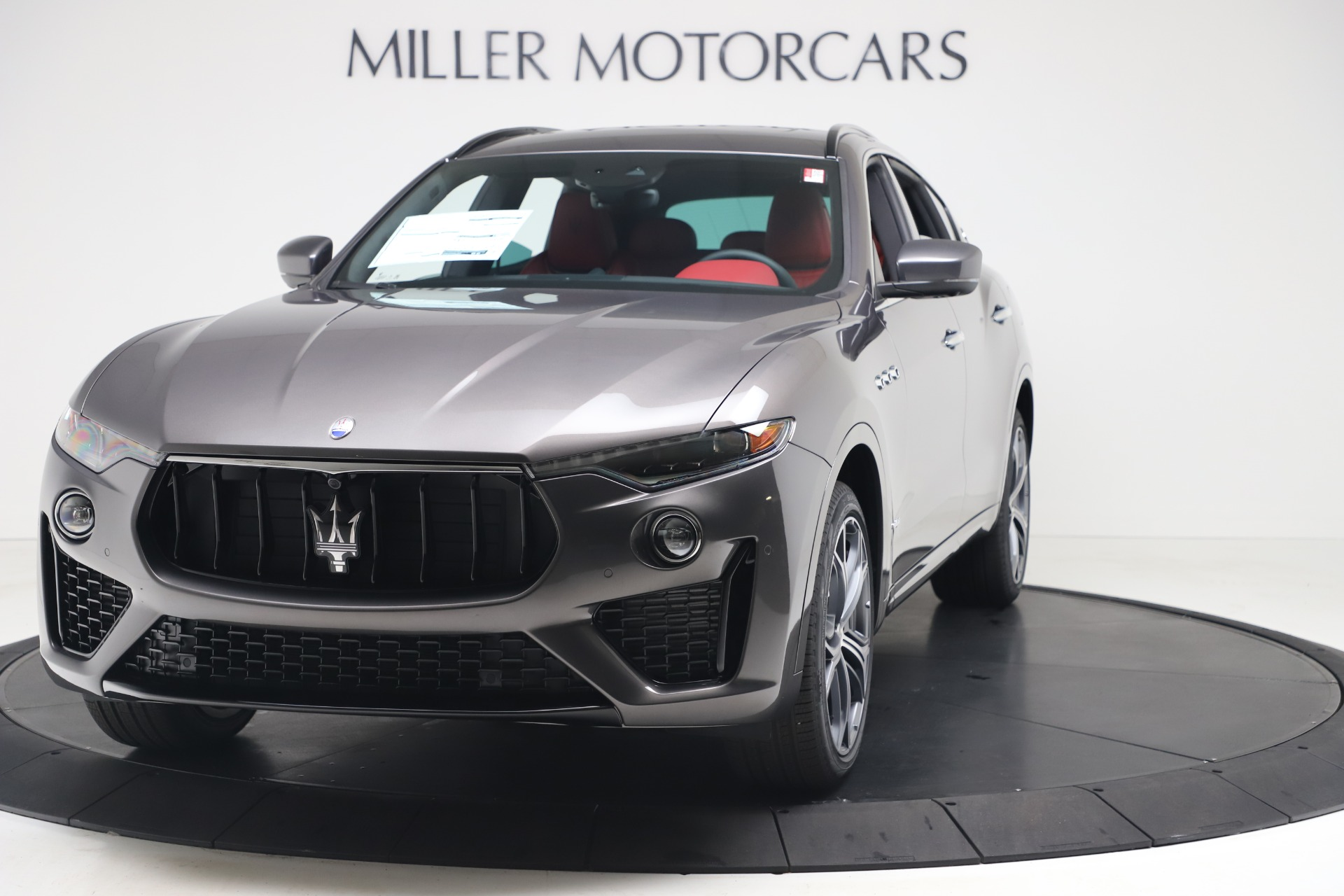 New 2020 Maserati Levante S Q4 GranSport for sale $101,535 at Rolls-Royce Motor Cars Greenwich in Greenwich CT 06830 1