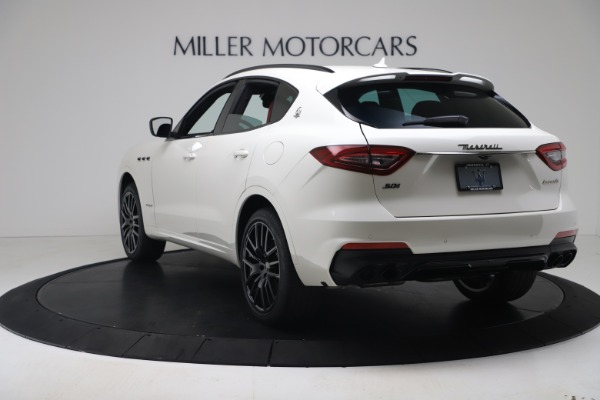 New 2020 Maserati Levante S Q4 GranSport for sale $104,485 at Rolls-Royce Motor Cars Greenwich in Greenwich CT 06830 5