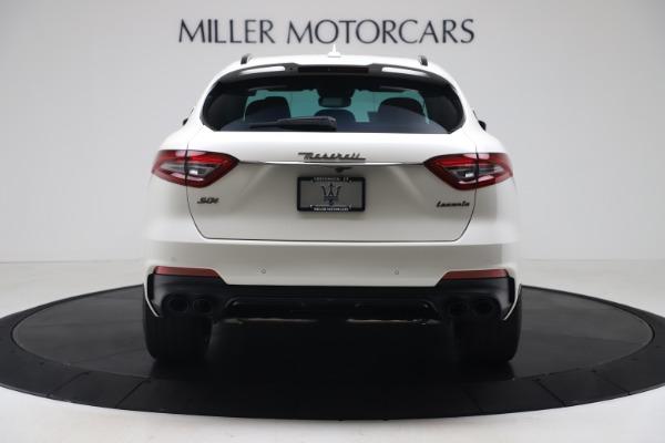 New 2020 Maserati Levante S Q4 GranSport for sale $104,485 at Rolls-Royce Motor Cars Greenwich in Greenwich CT 06830 6