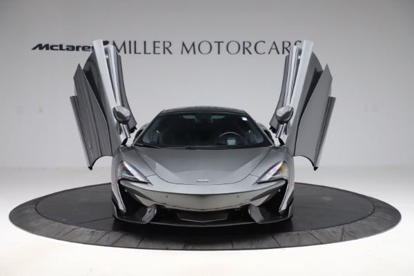 Used 2017 McLaren 570GT for sale $140,900 at Rolls-Royce Motor Cars Greenwich in Greenwich CT 06830 7