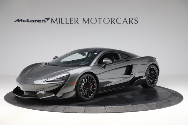 Used 2017 McLaren 570GT for sale $145,900 at Rolls-Royce Motor Cars Greenwich in Greenwich CT 06830 1