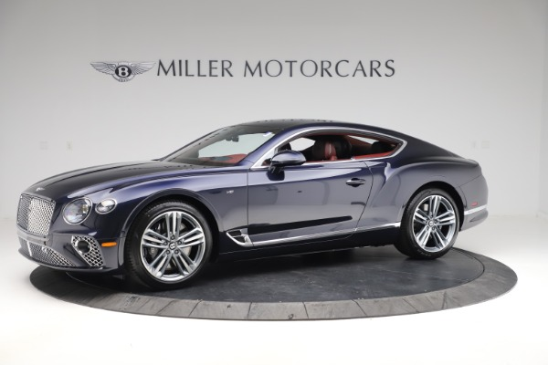 New 2020 Bentley Continental GT V8 for sale $242,250 at Rolls-Royce Motor Cars Greenwich in Greenwich CT 06830 2