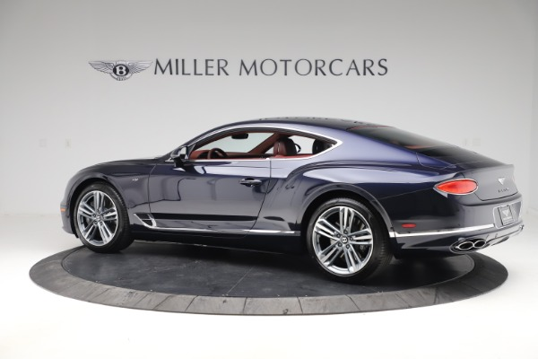 New 2020 Bentley Continental GT V8 for sale $242,250 at Rolls-Royce Motor Cars Greenwich in Greenwich CT 06830 4
