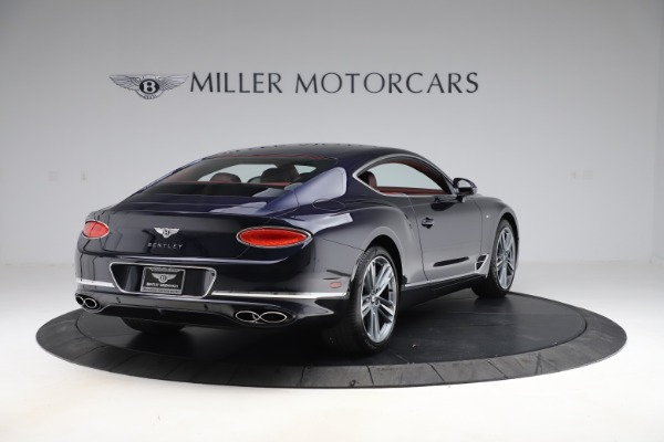 New 2020 Bentley Continental GT V8 for sale $242,250 at Rolls-Royce Motor Cars Greenwich in Greenwich CT 06830 7
