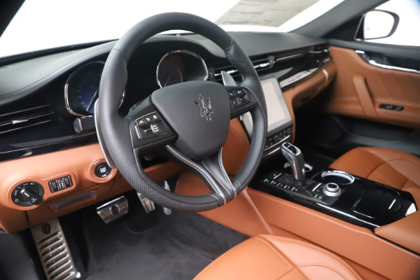 New 2020 Maserati Quattroporte S Q4 GranSport for sale $120,285 at Rolls-Royce Motor Cars Greenwich in Greenwich CT 06830 13