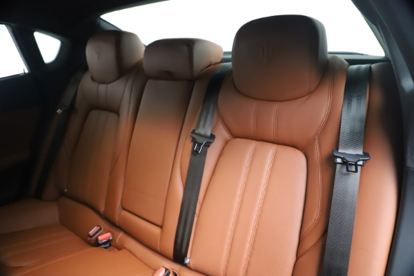 New 2020 Maserati Quattroporte S Q4 GranSport for sale $120,285 at Rolls-Royce Motor Cars Greenwich in Greenwich CT 06830 18