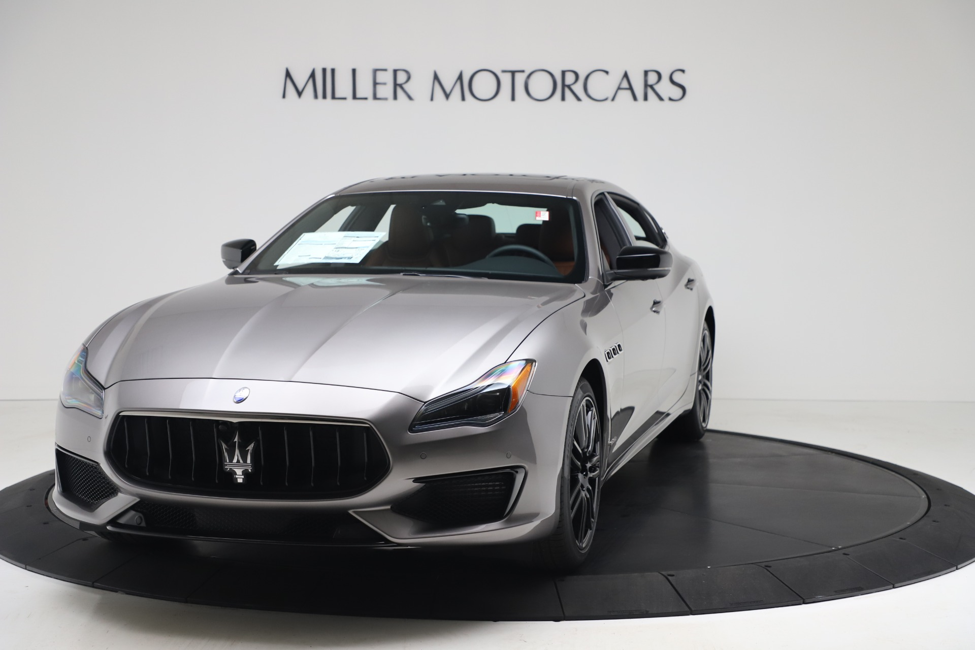 New 2020 Maserati Quattroporte S Q4 GranSport for sale $120,285 at Rolls-Royce Motor Cars Greenwich in Greenwich CT 06830 1