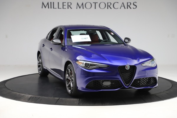 New 2020 Alfa Romeo Giulia Ti Sport Q4 for sale Sold at Rolls-Royce Motor Cars Greenwich in Greenwich CT 06830 11