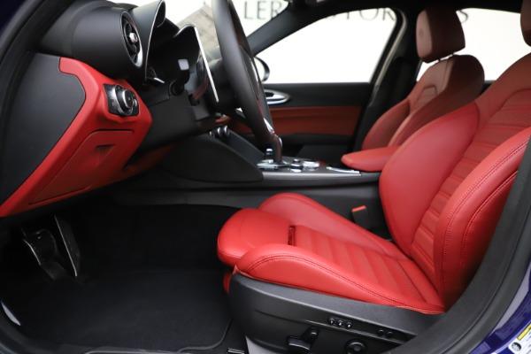 New 2020 Alfa Romeo Giulia Ti Sport Q4 for sale Sold at Rolls-Royce Motor Cars Greenwich in Greenwich CT 06830 13