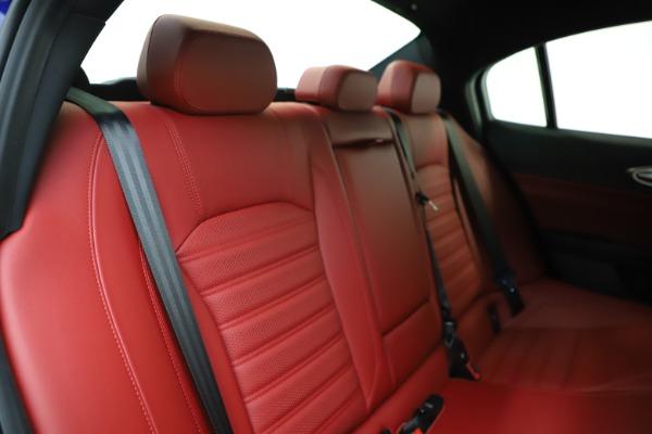 New 2020 Alfa Romeo Giulia Ti Sport Q4 for sale Sold at Rolls-Royce Motor Cars Greenwich in Greenwich CT 06830 25