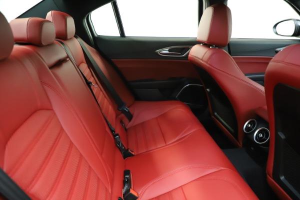 New 2020 Alfa Romeo Giulia Ti Sport Q4 for sale Sold at Rolls-Royce Motor Cars Greenwich in Greenwich CT 06830 26