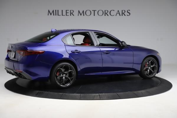 New 2020 Alfa Romeo Giulia Ti Sport Q4 for sale Sold at Rolls-Royce Motor Cars Greenwich in Greenwich CT 06830 8