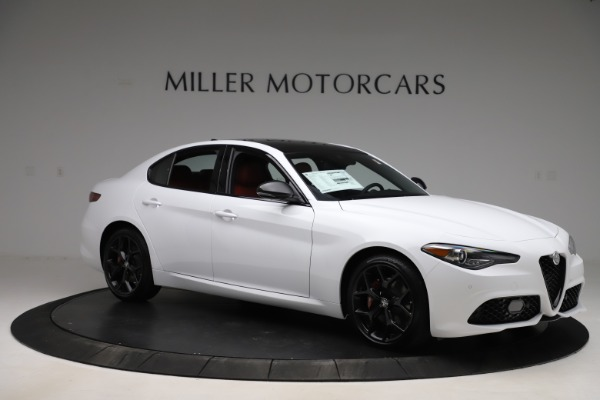 New 2020 Alfa Romeo Giulia Ti Sport Q4 for sale $51,995 at Rolls-Royce Motor Cars Greenwich in Greenwich CT 06830 10