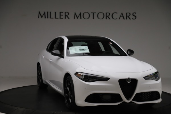 New 2020 Alfa Romeo Giulia Ti Sport Q4 for sale $51,995 at Rolls-Royce Motor Cars Greenwich in Greenwich CT 06830 11