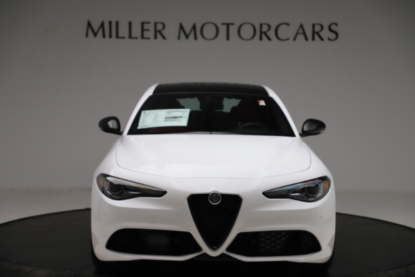 New 2020 Alfa Romeo Giulia Ti Sport Q4 for sale Call for price at Rolls-Royce Motor Cars Greenwich in Greenwich CT 06830 12