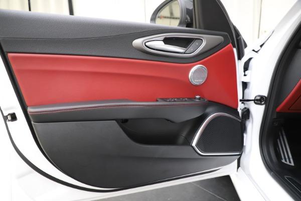 New 2020 Alfa Romeo Giulia Ti Sport Q4 for sale Call for price at Rolls-Royce Motor Cars Greenwich in Greenwich CT 06830 18