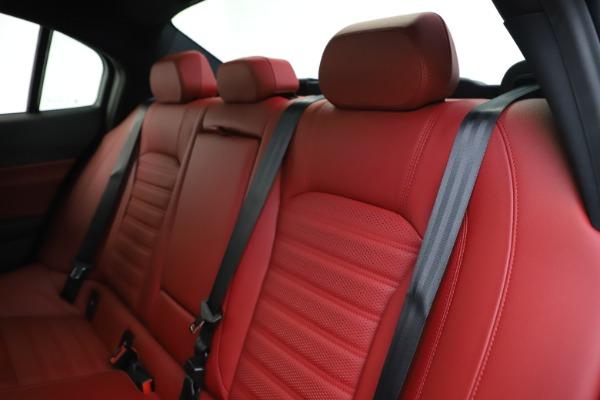 New 2020 Alfa Romeo Giulia Ti Sport Q4 for sale Call for price at Rolls-Royce Motor Cars Greenwich in Greenwich CT 06830 19